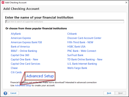 Why Cant Quicken For Mac Connect With Suntrust Bank