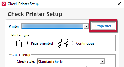 How To Set Your Printer To Print Checks in Quicken