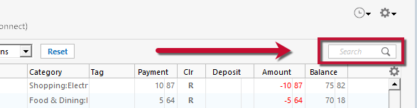 Quicken Says There Are Transactions to Accept But I Do Not See Any