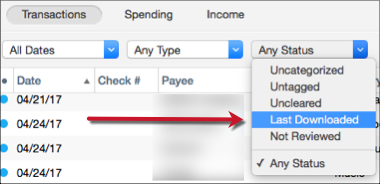 Assigning Categories or Tags in Quicken for Mac