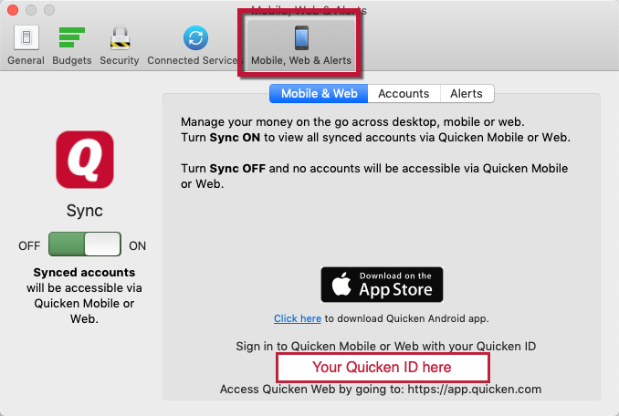 Troubleshooting Issues with the Quicken Mobile App