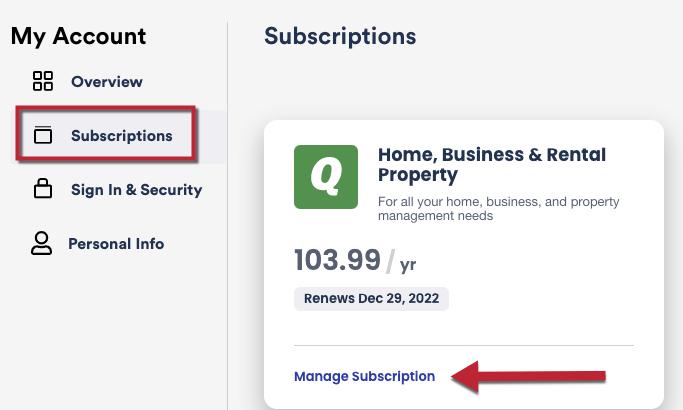 Quicken Subscription Membership FAQs