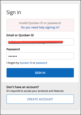 Troubleshooting Quicken Registration