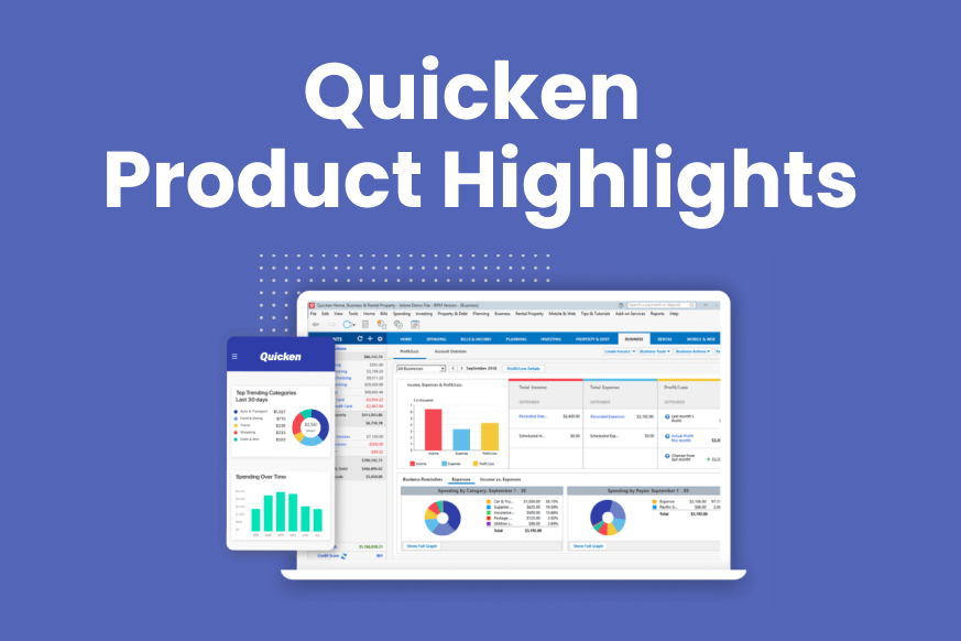 Quicken Product Highlights