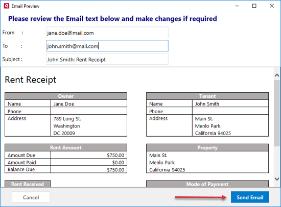 to create rent receipts for tenants – Rental Receipts for Tenants