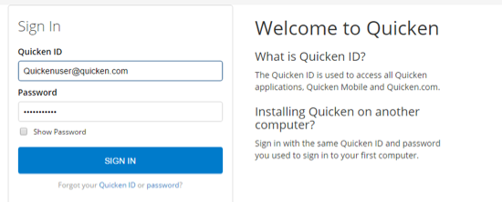 How do I download Quicken from Quicken com to install or