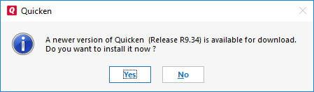 How do I update Quicken for Windows?