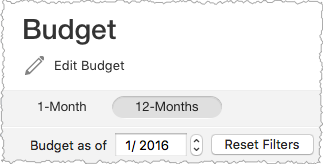 Quicken for Mac 12-Month Budget: Overview and Getting Started