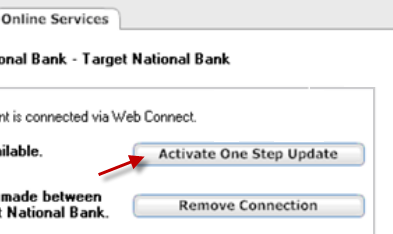Enabling an account for Express Web Connect