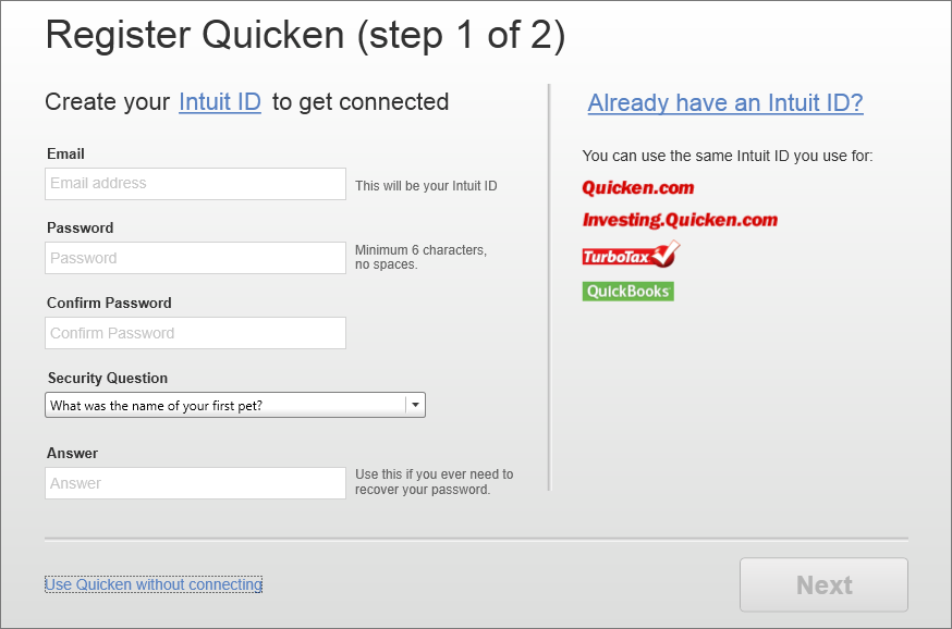 the complete guide to getting started with quicken 2014 for windows rh quicken com Quicken Loans Quicken Starter Edition