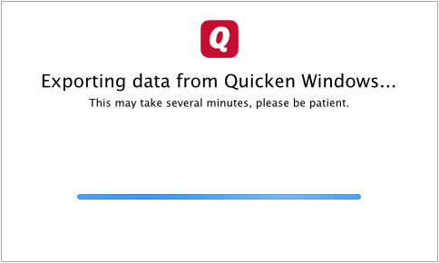 Converting from Quicken Windows to Quicken Mac