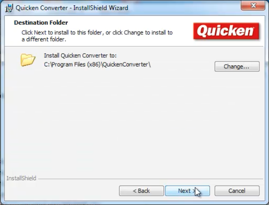 Converting files to Quicken Mac