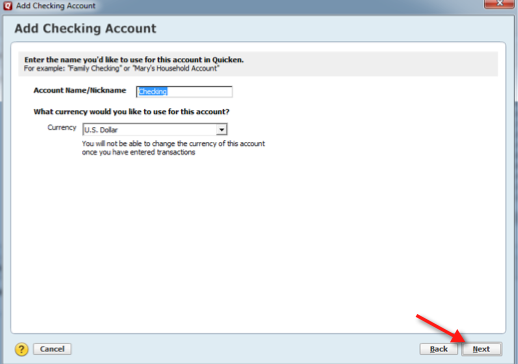 How do I enter accounts and transactions manually in Quicken for Windows?