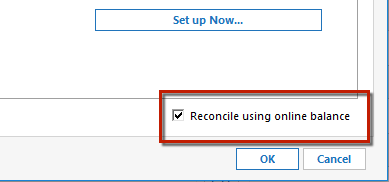 Reconciling an Account in Quicken for Windows